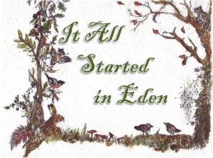 It All Started in Eden